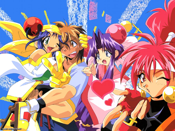 Saber Marionette J Anime Characters : All anime network diciembre