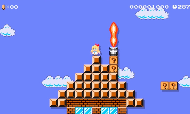 Chitoge-Super-Mario-Maker-1