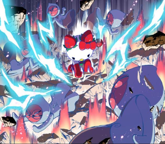 Ichigoman-Hello-Kitty-5-animees